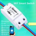Itead Sonoff Smart Afstandsbediening Wifi Schakelaar Diy Timer Draadloze Schakelaar, Sonoff S20 EU Smart WiFi Socket, smart Home 10A/2200 W