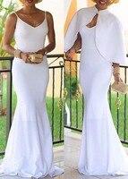 ชุดฤดูร้อนชุดสีขาวB Odycon
