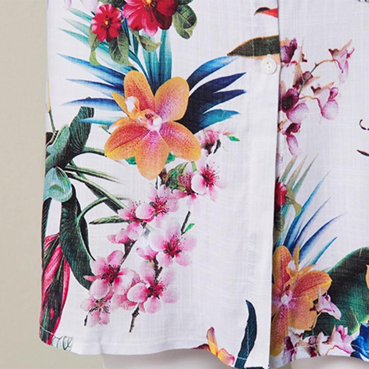 Floral 5 Longues Taille Blouse Automne color Feminina Nouvelle Shirts 3 Color Blusas color Femmes Dames Impression D'été 1 Casual 2018 La Blouses Plus Et AZgYvwxx
