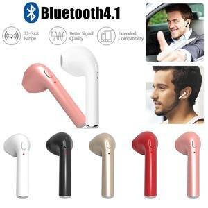 HBQ-I7 Wireless Mini Bluetooth Earphone With Charge Box 4.1 Earphone Single Ear Smartphone Wireless Bluetooth Stereo Earphone