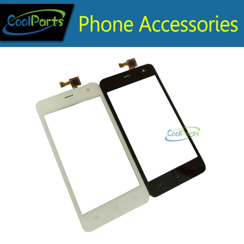1PC/Lot High Quality For Micromax A106 Touch Screen Digitizer Touch Panel Glass Replacement Part Black White Color