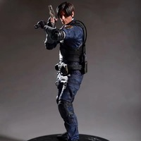Resident Evil Game Animation Leon Scott Kennedy 1/6 Scale Cartoon Figure 32cm