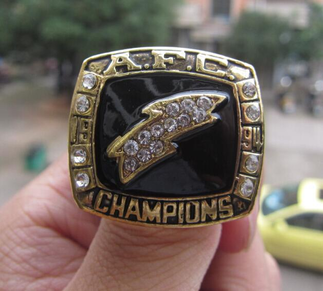 San Diego Chargers Championship Rings: High Quality SAN DIEGO CHARGERS SUPER BOWL RING 1994