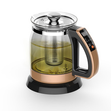 Free shipping Multifunctional health pot kettle with thick glass automatic tea insulation