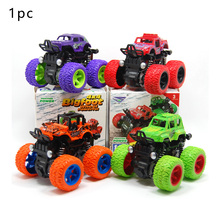 1PC Kids Cars Toys Monster Truck Inertia SUV Friction Power Vehicles Baby Boys Super Cars Blaze Truck Children Halloween Gifts