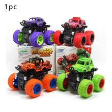 1PC Kids Cars Toys Monster Truck Inertia SUV Friction Power Vehicles Baby Boys Super Blaze Children Halloween Gifts