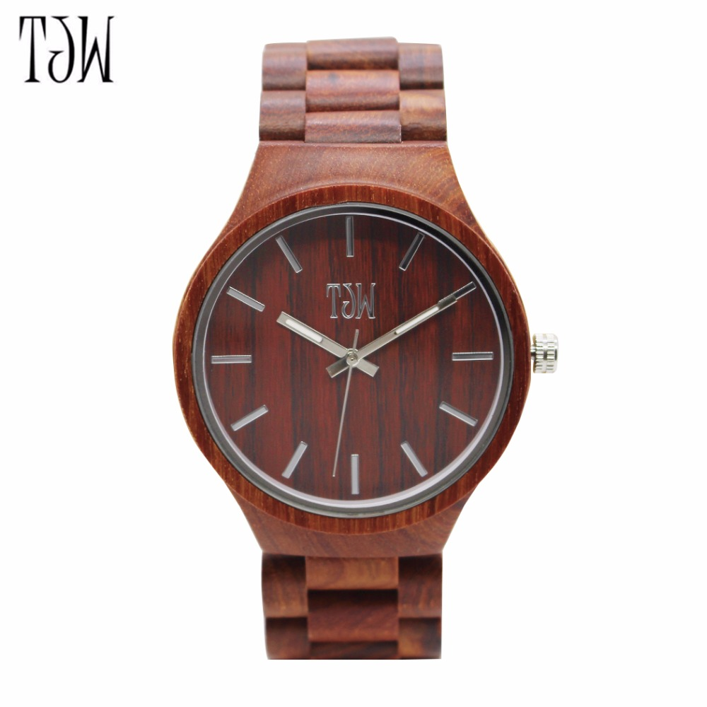 TJW 2018 Wooden luxury brand sports watch Men's watch ultra luxury 2 3 5 modes german motor watch winder white color wooden black pu leater inside automatic watch winder