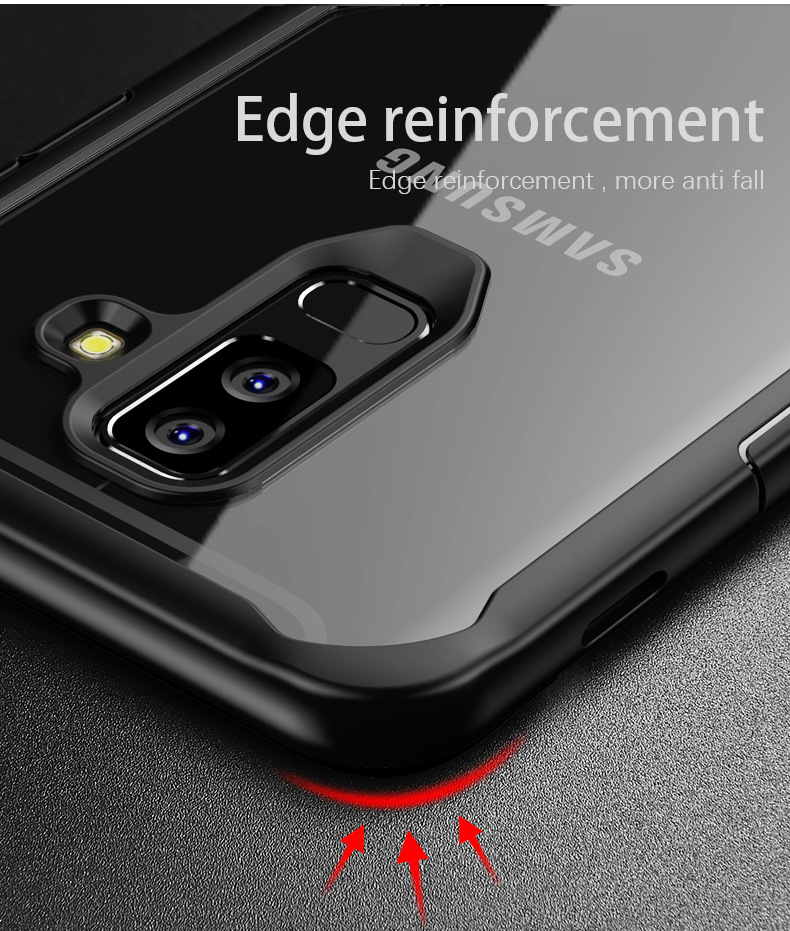 LUPHIE Case for Samsung S9 S8 Plus Note 8 Shockproof Transparent Back Cover Ultra thin Soft TPU Shell(3)
