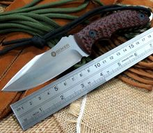 Custom ST-Z1 Camping TOOL Straight Knives Hunting Fixed Blade Knife Outdoors Knives Tools D2 blade G10 Handle