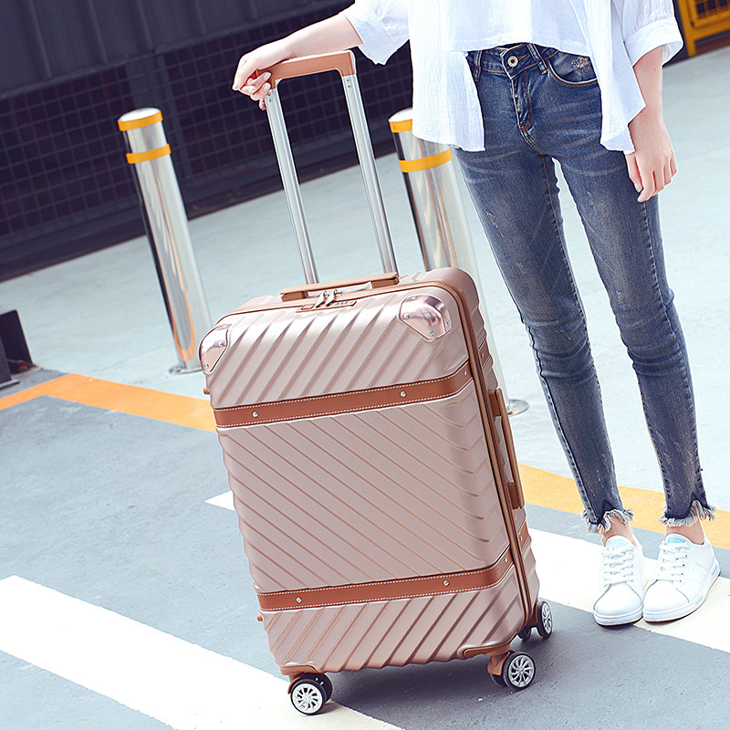 Y-Road Travel 2022''2426''ABS Zipper Carry On Hardside Rolling Trolley Travel Traveling Luggage Suitcase Carry-on Luggage y road travel trolley luggage suitcase 100