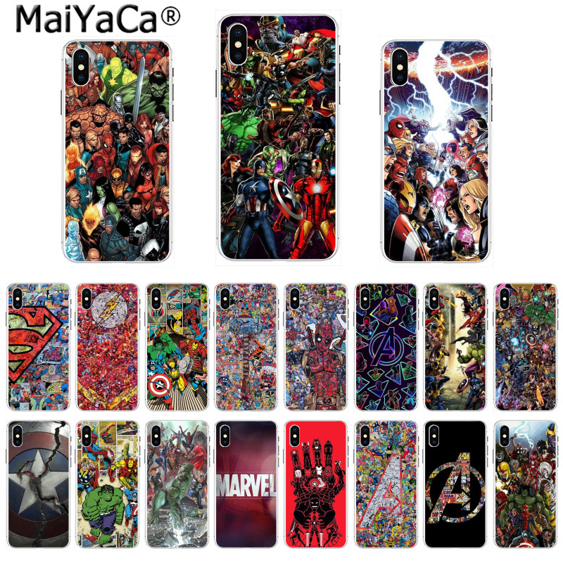 Maiyaca Doctor Strange Marvel Black Tpu Soft Silicone Phone Case Cover For Iphone 5 5sx 6 7 7plus 8 8plus X Xs Max Xr 10 Case Half-wrapped Case