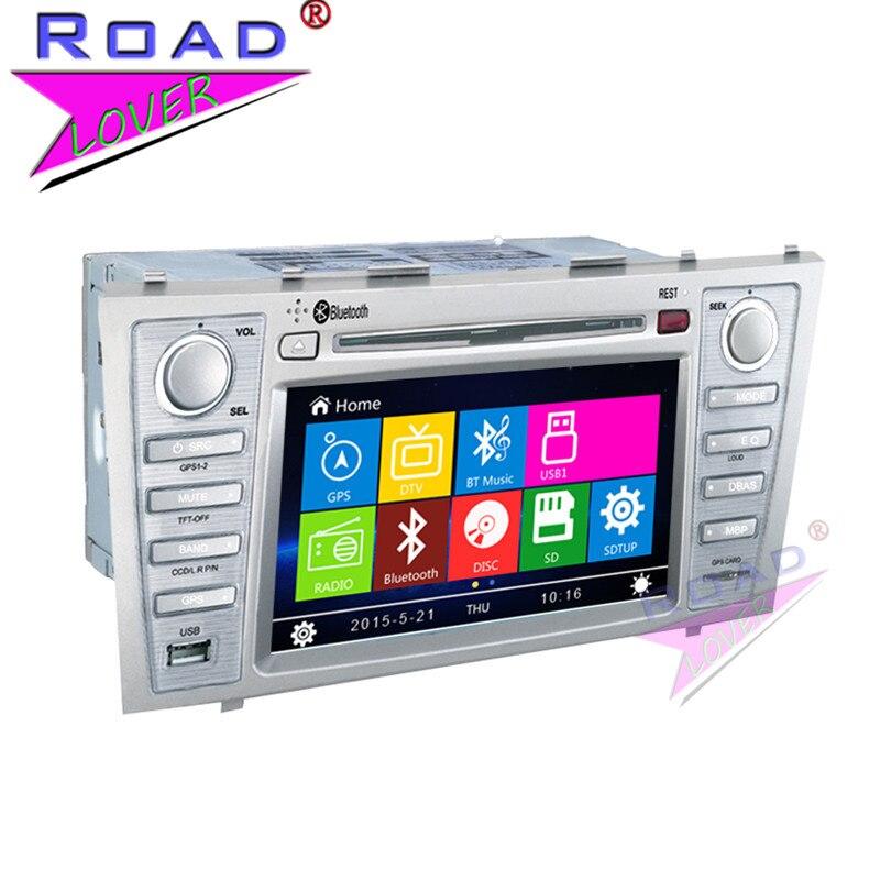 TOPNAVI Wince 6.0 2Din 7 Car Media Center DVD Player For Toyota Camry 2007 2008 2009 2010 2011 2012 Stereo GPS Navigation MP4