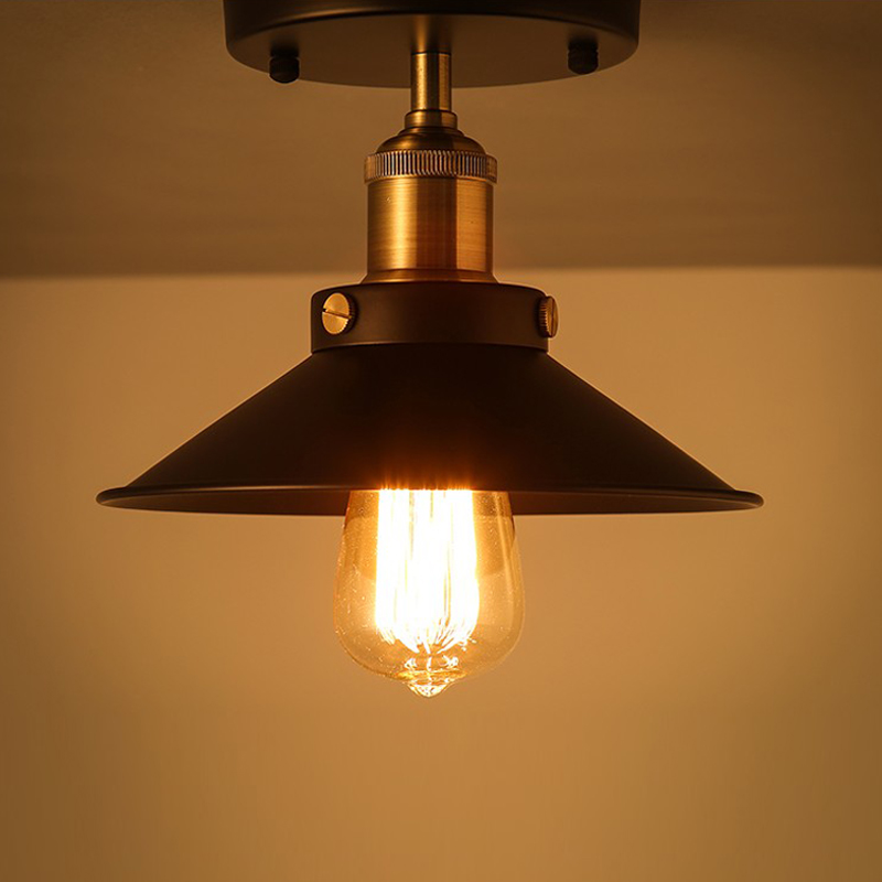 Vintage Retro Ceiling Light Loft Industrial Edison Bulb Metal Light Country style Sconce Lamp Fixtures American Style Good Light