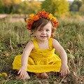 Новое Лето Девушка Dress для Девушки Одежды детей Платья 2017 Повседневная одежда Принцесса dress Детская Одежда Большой Бантом Детские Платья