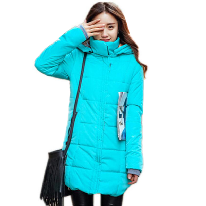 2017 Women's winter jacket High-Quality Casual Fashion Women   Parka   Female Hooded Coat Brand   Parka   Plus Size 6XL 5L10