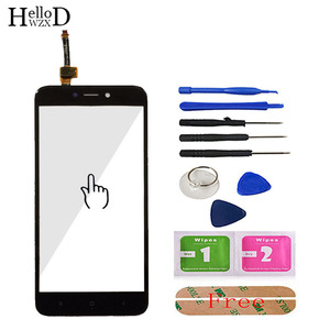 Image 2 - 5.0 Mobile Touch Screen For Xiaomi Redmi 4X Front Touch Glass Screen Glass Digitizer Panel Lens Sensor Tools Free Adhesive