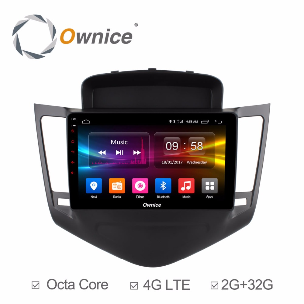 For Chevrolet Cruze 2009 2010 2011 2012 2013 2014 Vehicle Android Car DVD Unite Radio Video Player GPS Navigation Stereo Audio