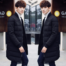 2017 High Quality Winter Thickening Clothes Overcoat Loose Long Coat  Solid Color Keep Warm Cotton Parkas Free Shipping