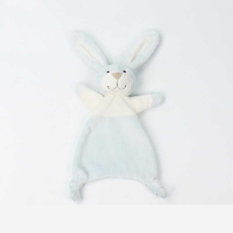 Babydecke Decke Beruhigende Handtuch Neugeborenen Sicherheit Decken Weichen Plüsch Hase Kaninchen Puppe Baby Spielzeug Taschentuch 0-12 Monate