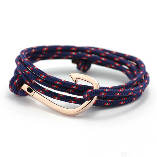 Hand Band Red Black Hook Bracelet Rope Fish For Men Wrap Mens Accessories In Charm Bracelets From Jewelry On
