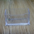 Hot Sale Plastic Business Card Holder Transparent Card Office Table Desktop Display Stands Durable Business Cards Holder Box