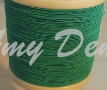 50meters/lot  0.04X220 mul strands wire silk wire litz wire according to the sale of green rice