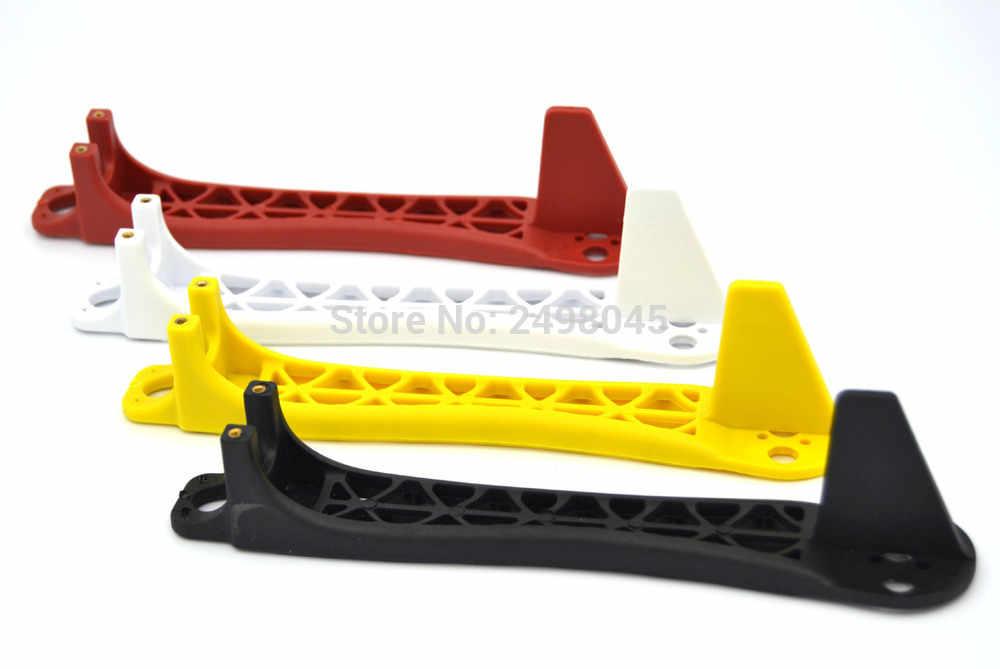 4 unids/lote cuadricóptero brazo de marco de repuesto para Flamewheel F450 F550 Blanco/Rojo/Negro/amarillo