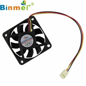 GRACEFUL 60mm PC CPU Cooling Fan 12v 3 Pin Computer Case Cooler Quiet Molex Connector Ventilador NOV28(China)
