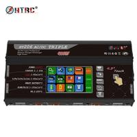 HTRC HT206 TRI RC Balance Charger  AC/DC  200W*3 20A*3 Triple Port 4.3