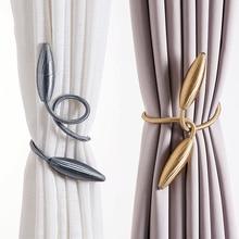 Tiebacks Ropes Curtain-Rods Accessoires Hanging-Belts Arbitrary-Shape Plush-Alloy