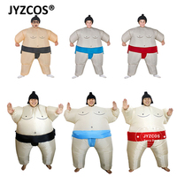 Adults Kids Inflatable Sumo Suits Wrestler Costume Outfits For Men Women Children Fat Man Airblown Sumo