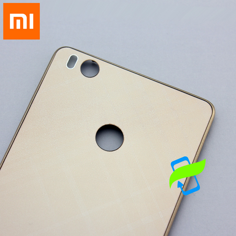Image 4 - New For Xiaomi 4S Back Battery Cover Back Housing Cover Case  For XIAOMI Mi 4S Rear Door Back Cover Replacement-in Fitted Cases from Cellphones & Telecommunications