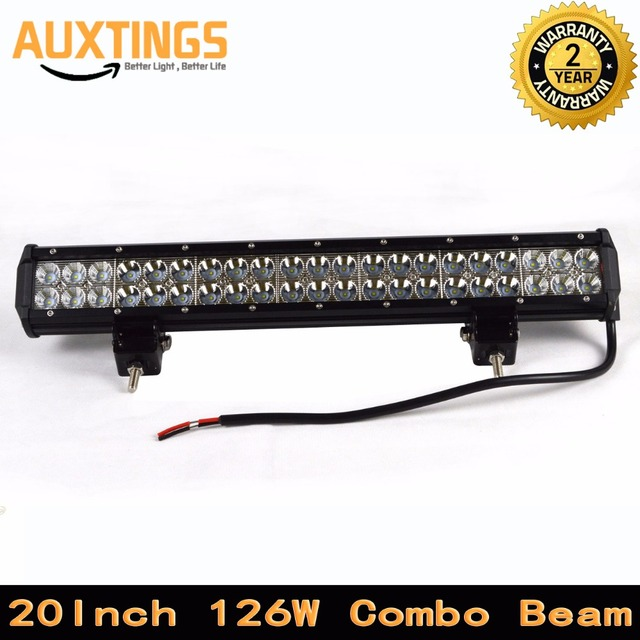 High power 10080 12600lm 20inch 126w combo beam led driving lights high power 10080 12600lm 20inch 126w combo beam led driving lights 12v waterproof aloadofball Gallery