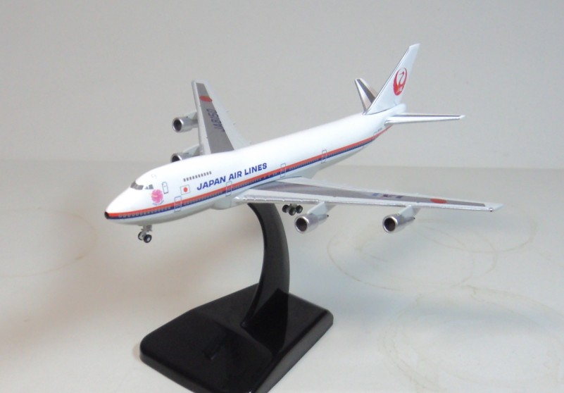 1:500 JAL Hogan Japanese aviation JA8150 747-200 aircraft model