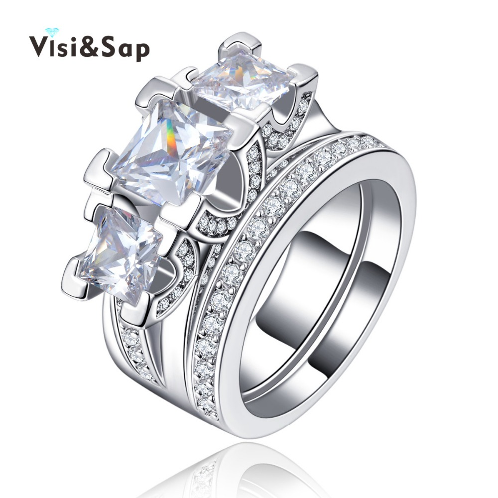 Online Get Cheap Double Ring Jewelry Aliexpresscom Alibaba Group