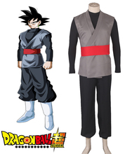 Dragon Ball Super Goku Black Costume Uniform