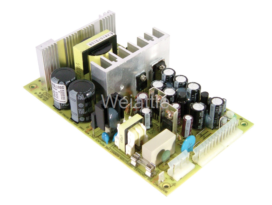 [Cheneng]MEAN WELL original PQ-100C meanwell PQ-100 102.5W Quad Output Switching Power Supply