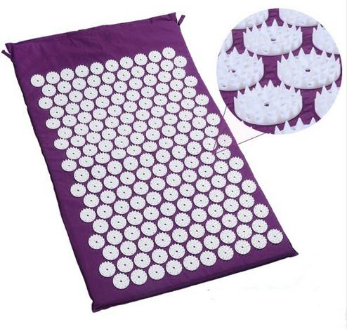Yoga Massage Cushion Body Health Acupuncture Massage Mat Acupressure Cushion Body Massage Pain Relief Health Care white tiger balm ointment soothe insect bites itch strength pain relieving arthritis joint massage body care oil cream l37