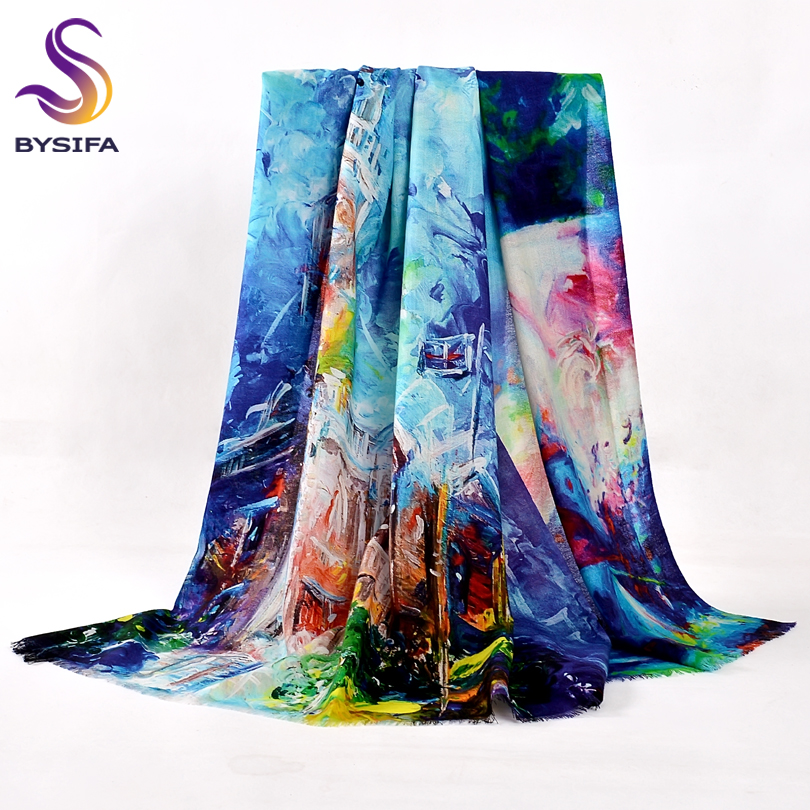 Pure Wool Scarves Ny Design Plus Size Wool Scarf Wraps Fashion Elegant Märke Pashmina Women All-Match Varm Vinter Sjal Sjal