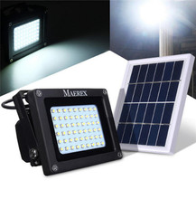 Led Solar Light Powered 54 LED Sensor Flood Waterproof Outdoor Security Lamp