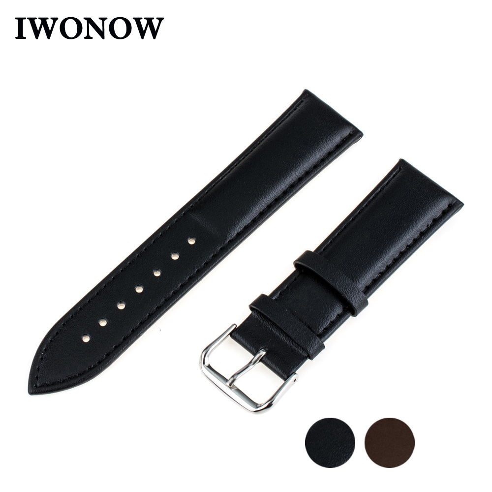Genuine Leather Watch Band 20mm 22mm 24mm for Diesel Stainle