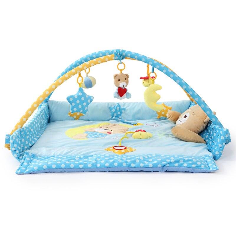 Tapis de jeu bébé tapis pour enfants tapis de sol garçon fille tapis de jeu tapis de jeu tapis d'activité bébé pour enfants jouet éducatif loisirs JH-778524A - 2