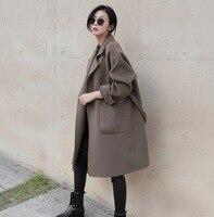 Moda damska wełniana kurtka Kobiet