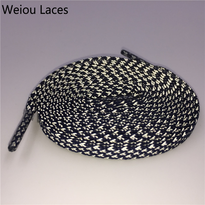 Weiou 3M Flat Reflective Shoe Laces for Trekking Boots Replacement shoelaces for Men Women Kids Bootlace Sport shoes ultra boost pz0 5 16 0 5 16mm2 crimping tool bootlace ferrule crimper and 1k 12 awg en4012 bare bootlace wire ferrules