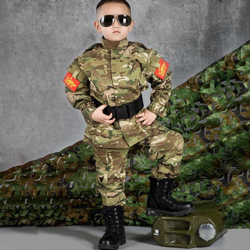 Uniformes Para Ninos Militares Trajes Tacticos De Camuflaje Ropa Para Ninos Y Ninas Chaqueta Pantalones Ejercito Airsoft Paintball Uniform Kids Jacket Jacketkids Military Uniform Aliexpress