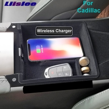 Qi Wireless Charger Interior Storage Box Charging For Cadillac