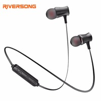 Bluetooth Earphone Magnet Wireless Sports Earphones RIVERSONG A01 Noise Reduction Earbuds With Microphone For Xiaomi Phone