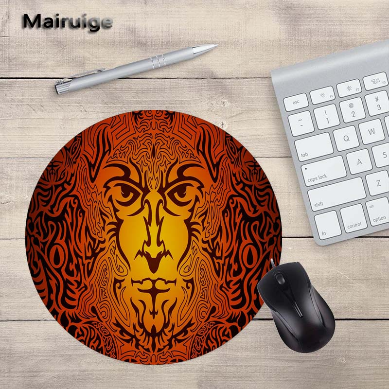 Mairuige New Arrival Pattern Rotate Round MousePad Laptop 200X200MM Size PC Game Home Decoration Gift Gamer Speed Version Mats