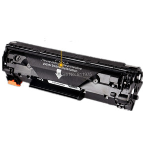Image 2 - 283A 283 83A  CF283A BLACK compatible toner cartridge for HP Laserjet M127FN M126FN M125nw Printer