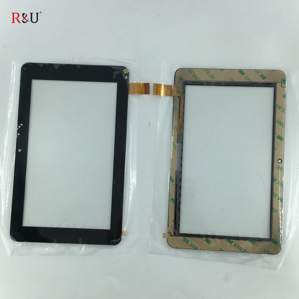 7 inch Capacitve Touch Screen digitizel glass sensor Handwritten replacement for 20130610B Kurio 7 tablet pc